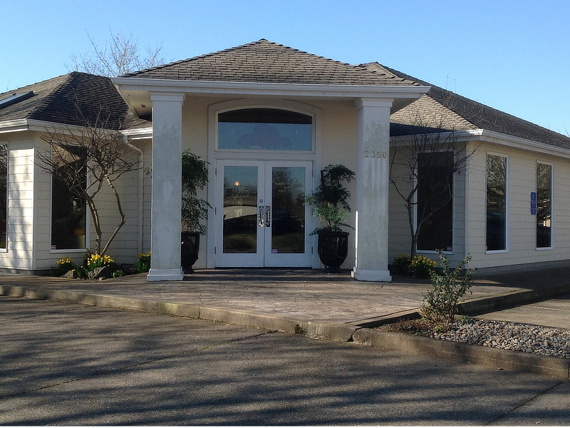 Front office entrance - Douglas Johnson - Oregon