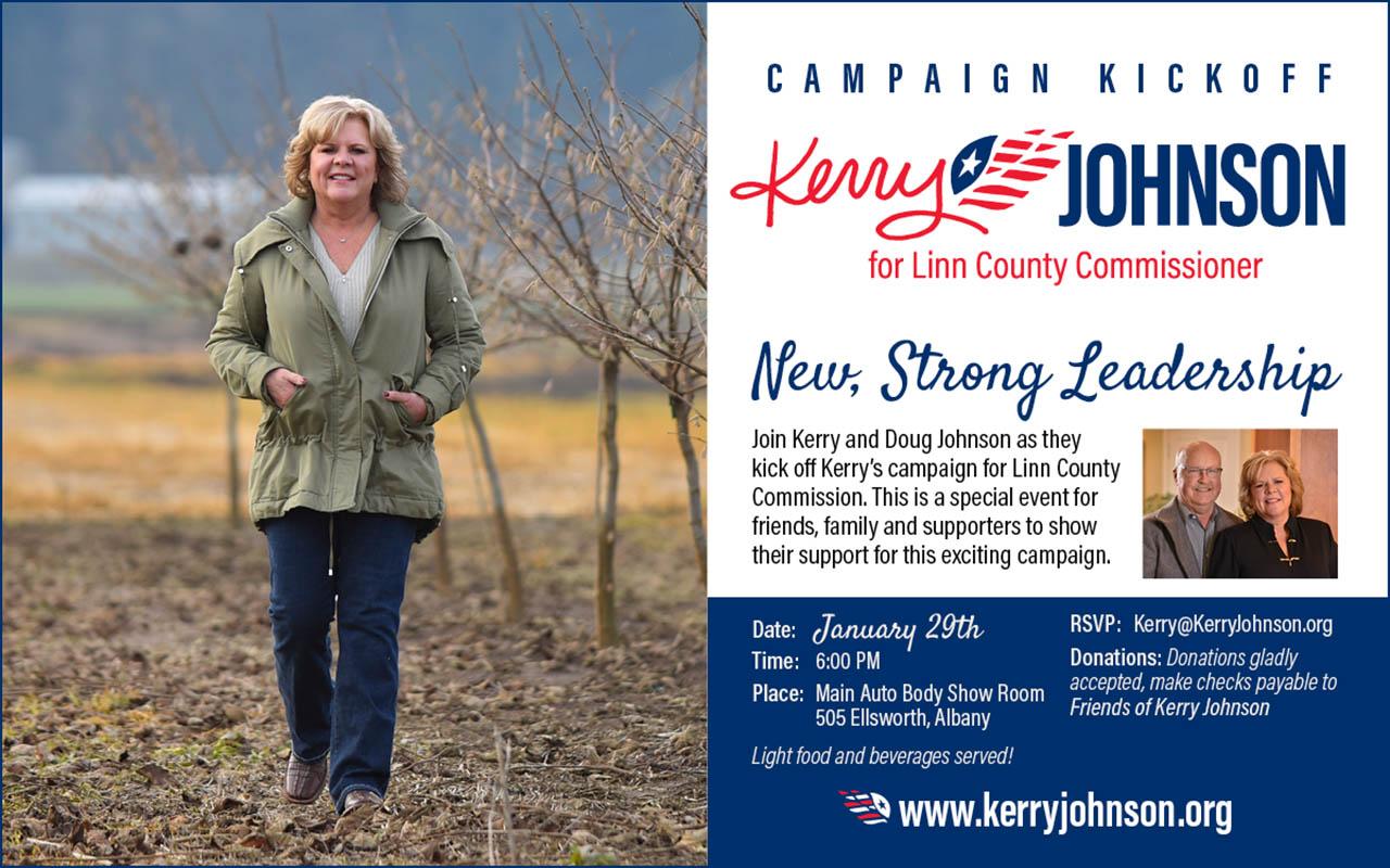 Kerry Johnson, Linn County Commissioner